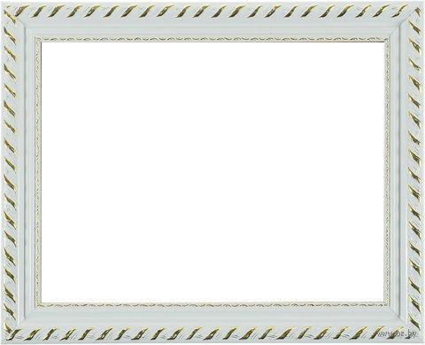 """Рамка пластмассовая для картины по номерам """"Kleopatra"""" (30х40 см; белая) — фото, картинка"""
