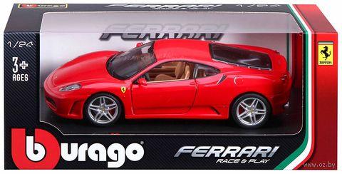 """Модель машины """"Bburago. Ferrari F430"""" (масштаб: 1/24) — фото, картинка"""