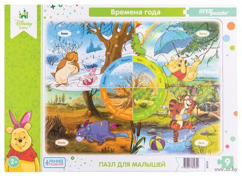 "Пазл-рамка ""Времена года"" (9 элементов) — фото, картинка"