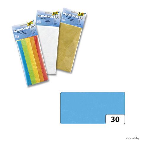 Бумага папиросная (голубой; 500х700 мм; 5 листов)