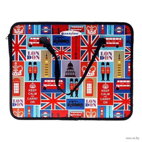 """Папка-портфель """"Лондон"""" (А4) — фото, картинка"""