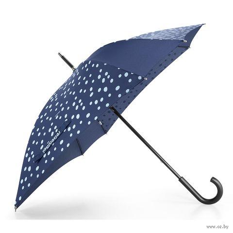 """Зонт-трость """"Spots Navy"""" — фото, картинка"""