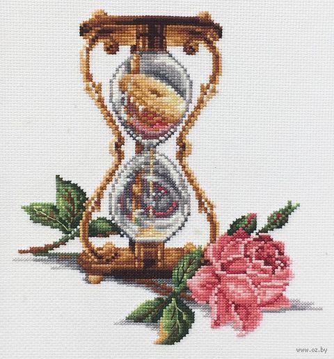 """Вышивка крестом """"Песочные часы"""" (200х230 мм) — фото, картинка"""