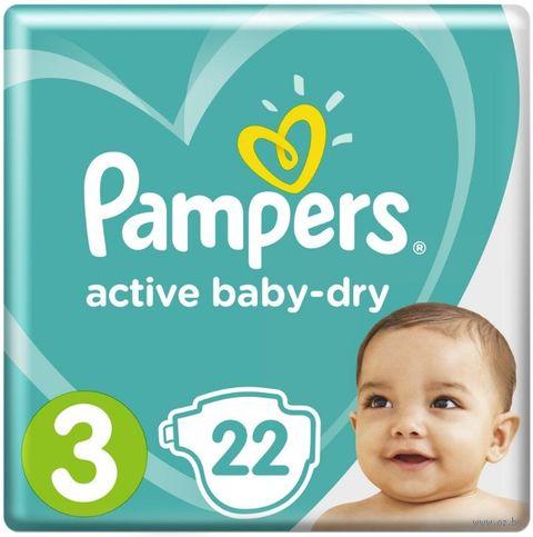 """Подгузники """"Active Baby-dry Midi"""" (6-10 кг; 22 шт.) — фото, картинка"""
