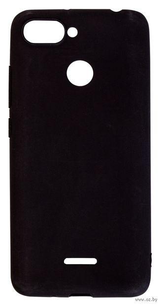 Чехол Biggo для Xiaomi Redmi 6 (черный) — фото, картинка