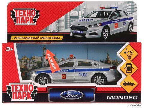 """Модель машины """"Ford Mondeo. Полиция"""" (со световыми и звуковыми эффектами; арт. MONDEO-P-SL) — фото, картинка"""