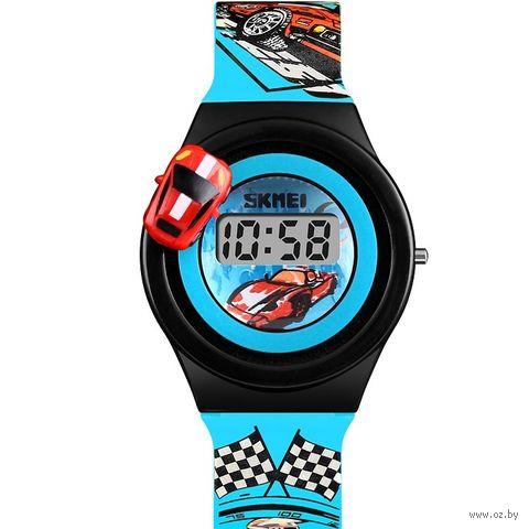 Часы наручные (голубые; арт. 1376) — фото, картинка