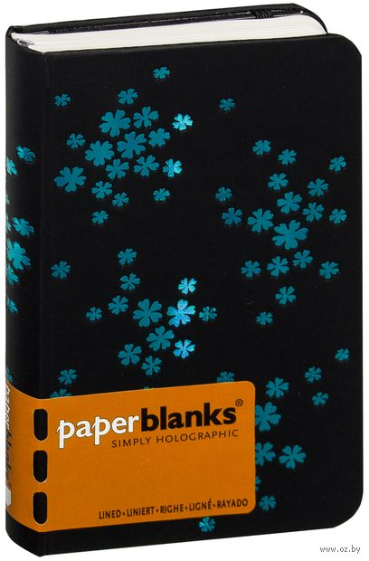 "Записная книжка Paperblanks ""Ледяные цветы"" в линейку (А6)"