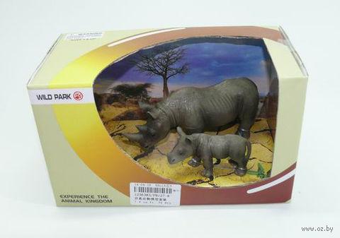 """Набор фигурок """"Носороги"""" (2 шт) — фото, картинка"""