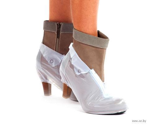 Чехлы грязезащитные для обуви на каблуке (XL) — фото, картинка