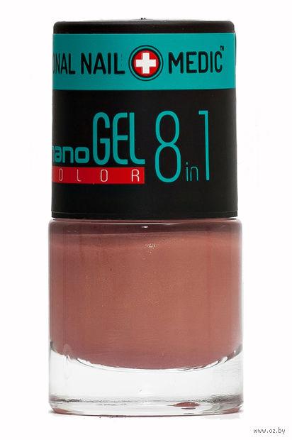 """Лак для ногтей """"Nano Gel Color"""" (тон: 08, нежный капучино) — фото, картинка"""