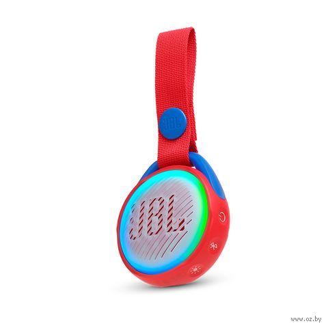 Беспроводная колонка JBL JR POP для детей (красная) — фото, картинка