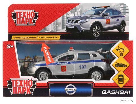 """Модель машины """"Nissan Qashqai. Полиция"""" (со световыми и звуковыми эффектами; арт. QASHQAI-P-SL) — фото, картинка"""