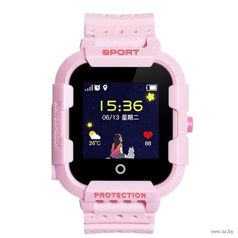 Умные часы Wonlex KT03 (розовые) — фото, картинка