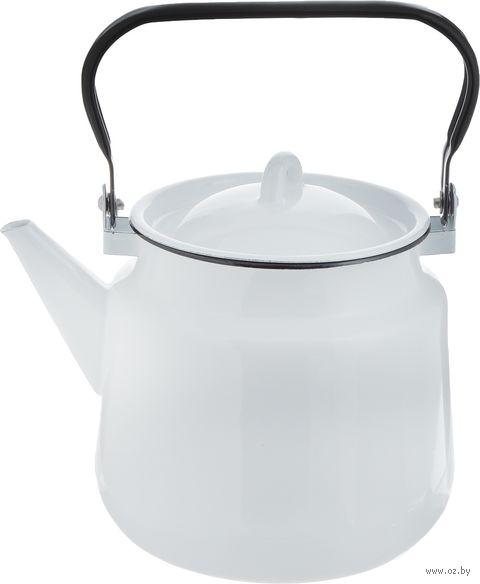Чайник металлический (3,5 л) — фото, картинка