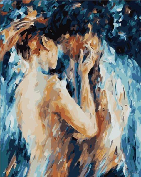 """Картина по номерам """"Тихая страсть"""" (400х500 мм) — фото, картинка"""