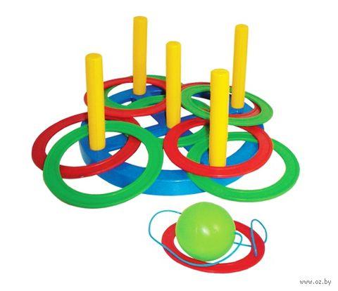 """Игровой набор """"Кольцеброс. Поймай шарик"""" — фото, картинка"""