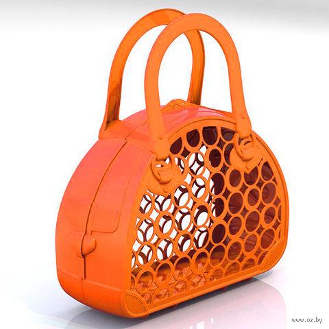 Сумка-корзинка (оранжевая)