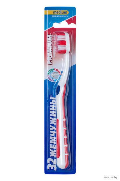 """Зубная щетка """"Premium"""" (средней жесткости)"""