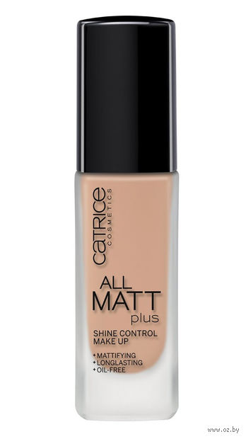 """Тональный крем для лица """"All Matt Plus. Shine Control Make Up"""" (тон: 020, нюдовый бежевый)"""