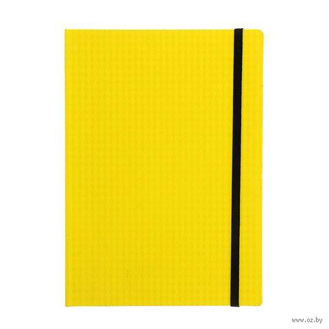 """Блокнот в клетку """"Study Up"""" (А5; желтый) — фото, картинка"""