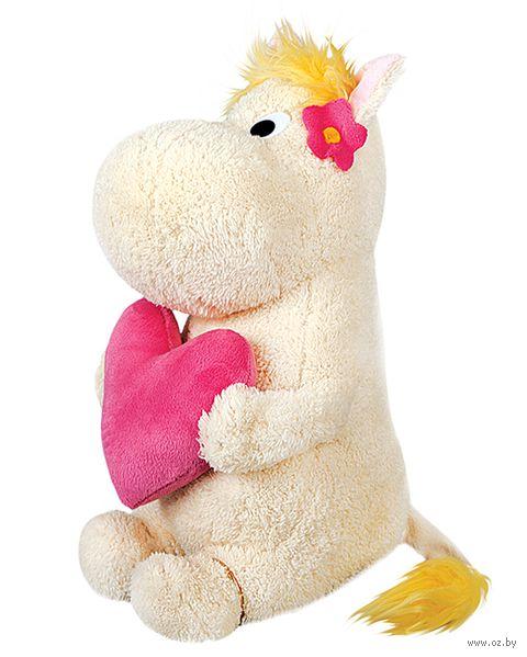 """Мягкая игрушка """"Фрекен Снорк с сердечком"""" (23 см)"""