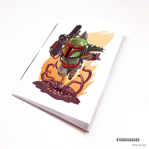 "Блокнот ""Звездные войны"" (А7; арт. 892)"