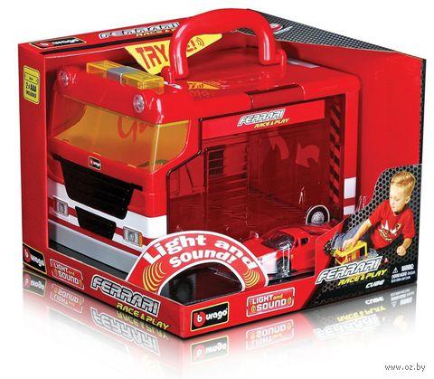 """Паркинг """"Ferrari"""" (со звуковыми и световыми эффектам) — фото, картинка"""