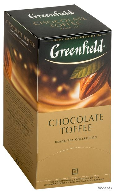 "Чай черный ""Greenfield. Chocolate Toffee"" (25 пакетиков) — фото, картинка"