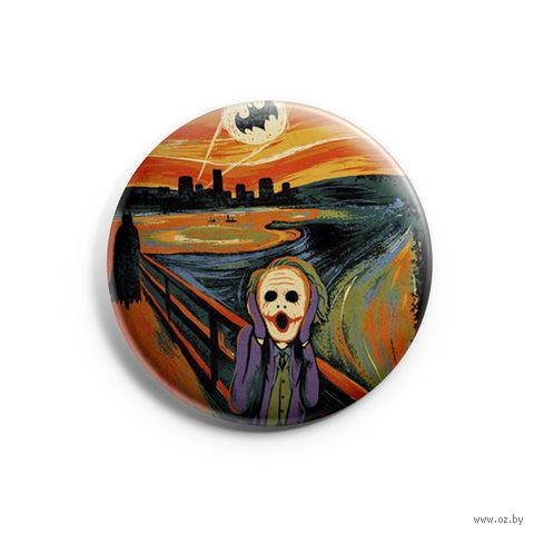 "Значок маленький ""Джокер"" (арт. 736) — фото, картинка"