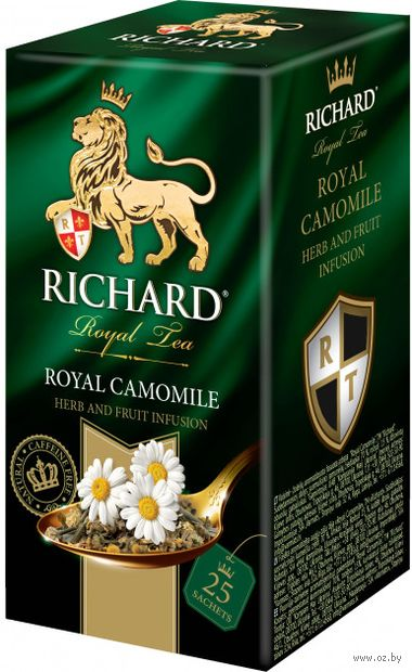 "Фиточай ""Richard. Royal Camomile"" (25 пакетиков) — фото, картинка"