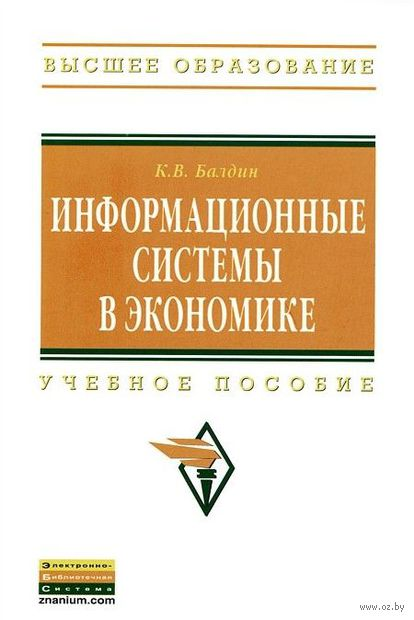 Информационные системы в экономике. Константин Балдин