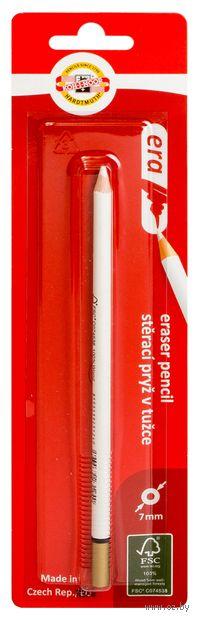 Ластик-карандаш в блистере (белый)