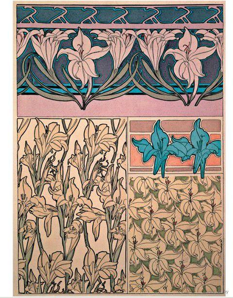 """Записная книжка Paperblanks """"Альфонс Муха. Ирис"""" в линейку (формат: 70*90 мм, микро)"""