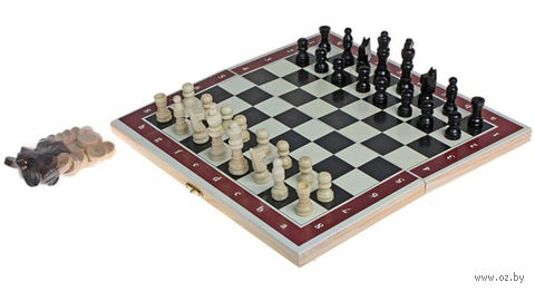 Шашки, шахматы, нарды (арт. 273156) — фото, картинка