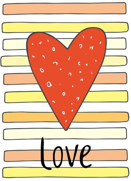 """Блокнот для записей """"Love"""" А6"""