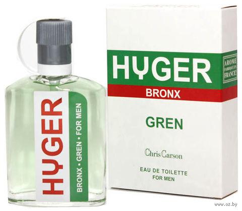 "Туалетная вода для мужчин ""Hyger Bronx. Gren"" (90 мл) — фото, картинка"