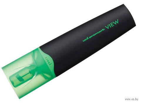 """Маркер текстовыделитель """"VIEW USP-200"""" (зеленый; 1-5 мм)"""