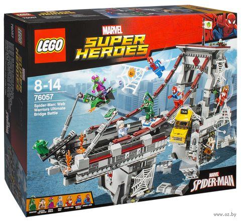 """LEGO Super Heroes """"Человек-паук: последний бой воинов паутины"""" — фото, картинка"""