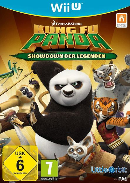 Kung Fu Panda: Showdown of Legendary Legends (Wii U)