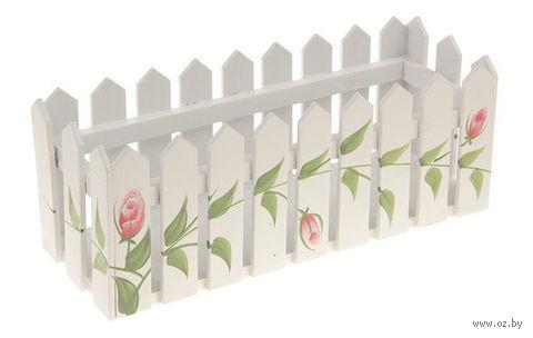 Кашпо для цветов (30х10х12 см) — фото, картинка
