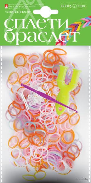 """Набор для плетения из резиночек """"Светящиеся"""" (1000 шт.) — фото, картинка"""