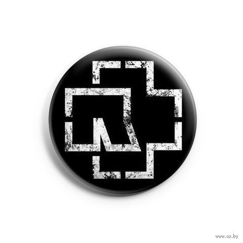 "Значок маленький ""Rammstein"" (арт. 972) — фото, картинка"