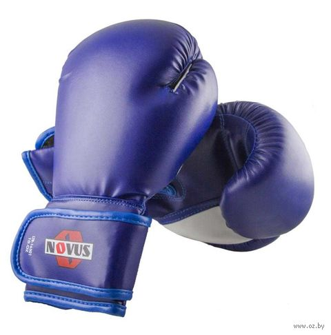 Перчатки боксёрские LTB-16301 (S/M; синие; 10 унций) — фото, картинка