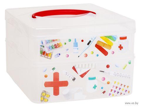 """Ящик для хранения с крышкой """"Multi Box"""" (245х160х165 мм) — фото, картинка"""