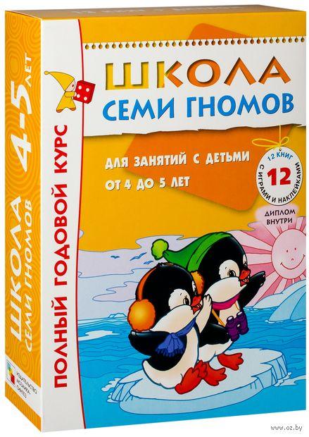 Полный годовой курс. Для занятий с детьми от 4 до 5 лет (комплект из 12 книг). Юрий Дорожин