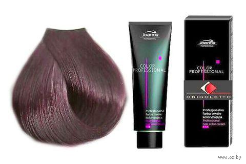 Краска для волос Joanna Color Professional (тон: 6.2, фиолетовый темный блонд)