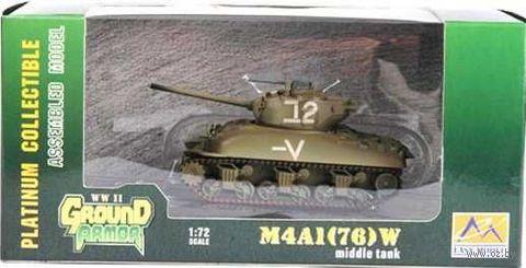 """Танк """"M4A1 (76)W Израиль"""" (масштаб: 1/72) — фото, картинка"""