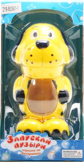 """Игрушка для выдувания мыльных пузырей """"Собака"""""""