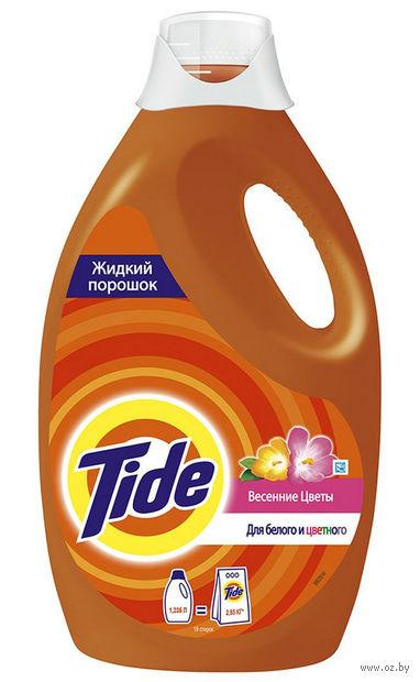 """Жидкий стиральный порошок """"Весенние цветы"""" (1,235 л)"""